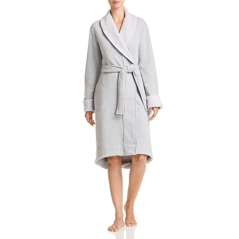 Ugg Duffield II Robe in Seal Heather Color