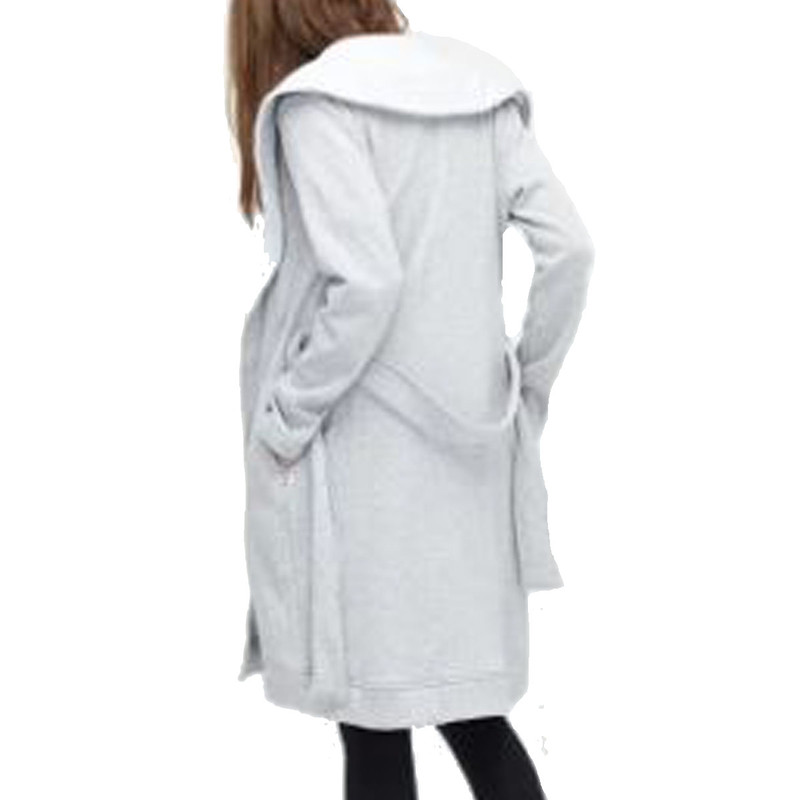 Ugg Blanche II Robe in Seal Heather Color