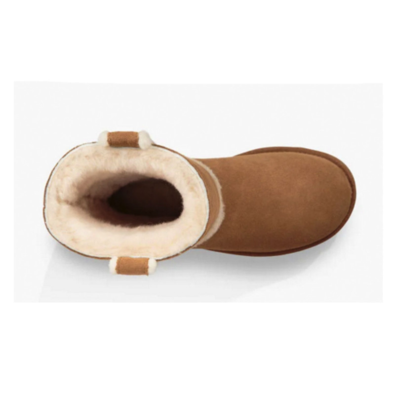 Ugg Classic Short Spill Seam Boot in Chestnut Color