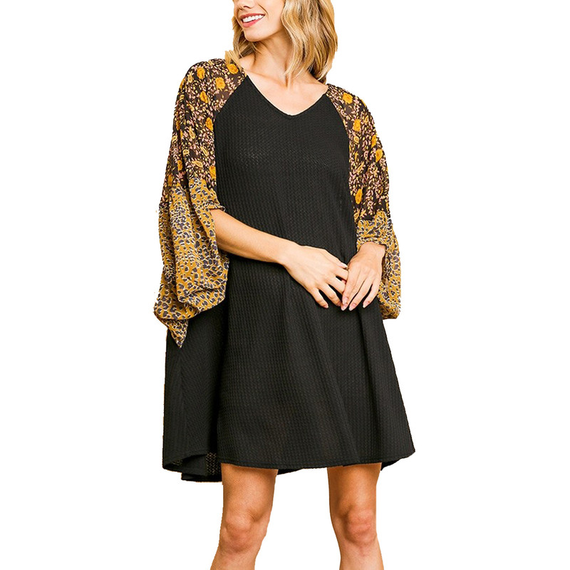 Umgee Plus Size Top in Black Color