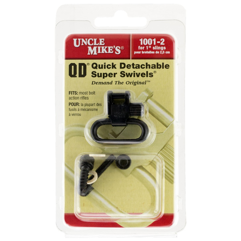 Uncle Mikes 1221-2 QD Sling Swivels Kit Remington 760/7600 Pre 1968
