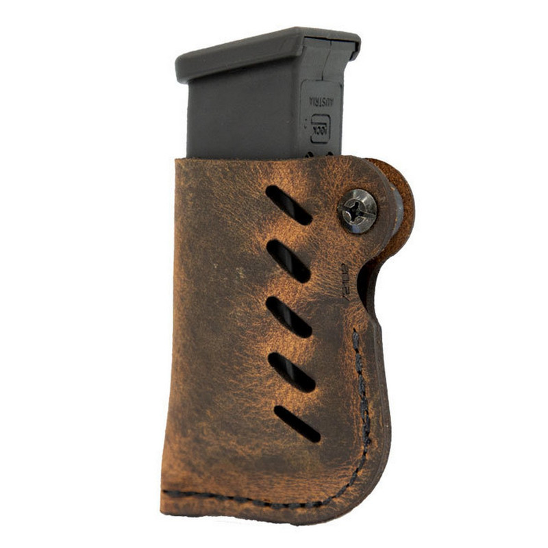 Versacarry Leather Double Stack Glock Magazine Carrier