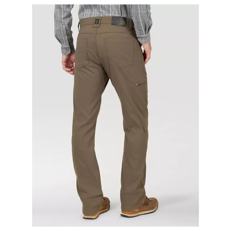 Wrangler Outdoor Synthetic Utility Pant in Morel Color