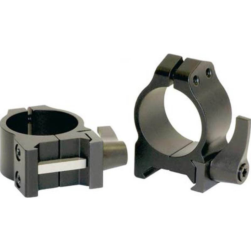Warne Maxima Quick Detach Extra High 1 Inch Scope Rings