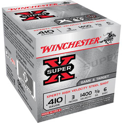 "Winchester WE413GT Xpert Steel 410 Ga 3"" 3/8 Oz - Box"