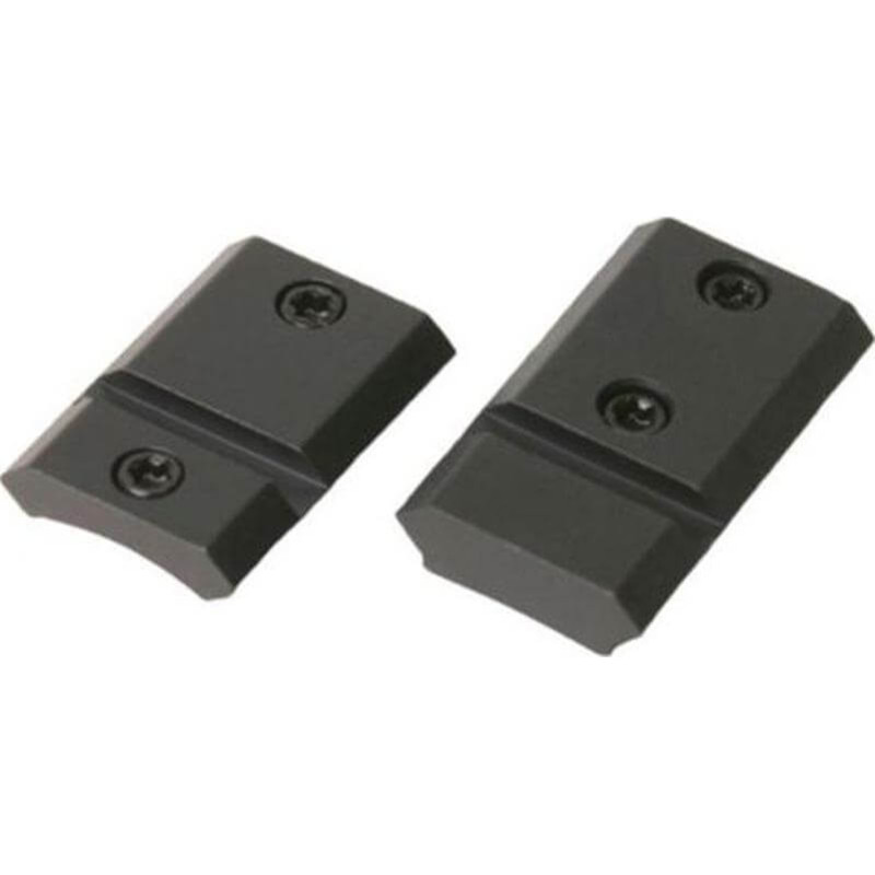 Weaver Top Mount Base Pairs - Savage 110 with Acu-Trigger Matte Black