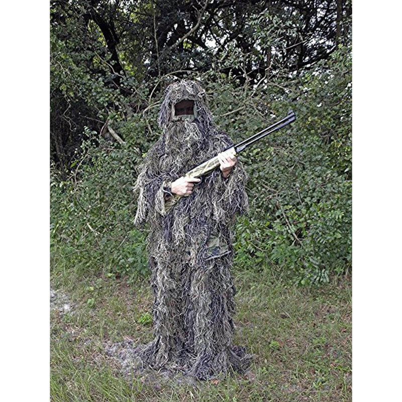 World Famous Sports 3-Piece Ghillie Suit in Woodland Color