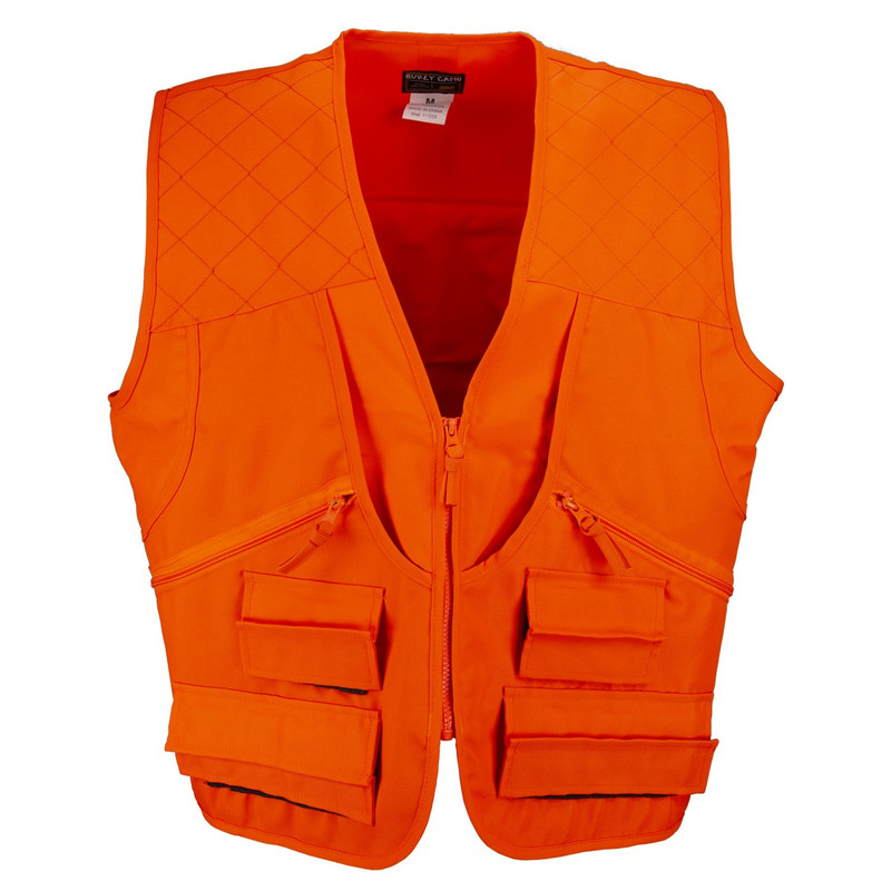 World Famous Sports Upland Game Vest - Blaze Orange in Blaze Color