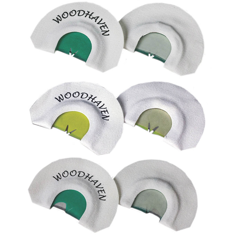 Woodhaven Top 3 Pro Pack Diaphragm Turkey Calls
