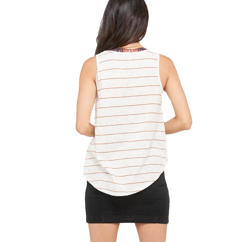Not So Serious Stripe Tank in Gucci Color