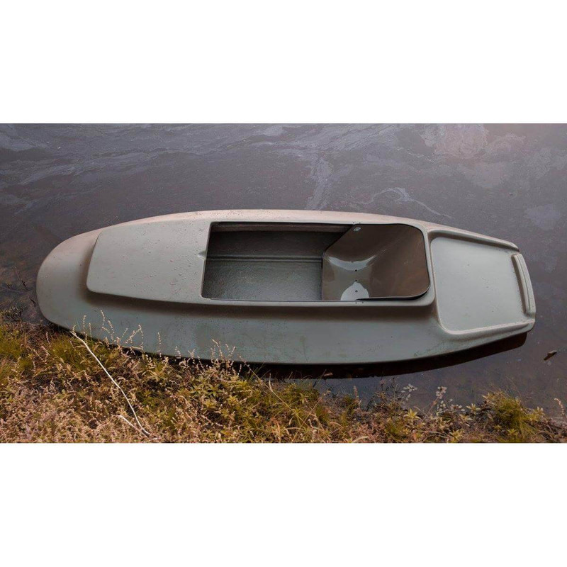 Duck Buster Fiberglass Layout Boat in main