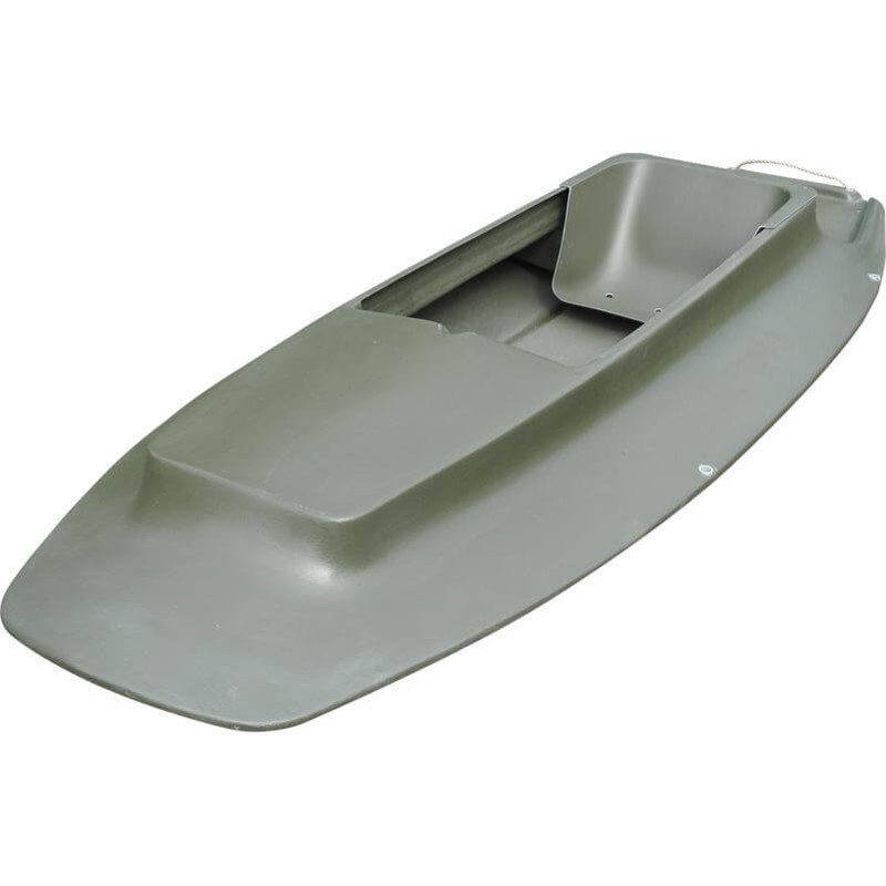 Duck Buster Carbon Killer Layout Boat in Green Color