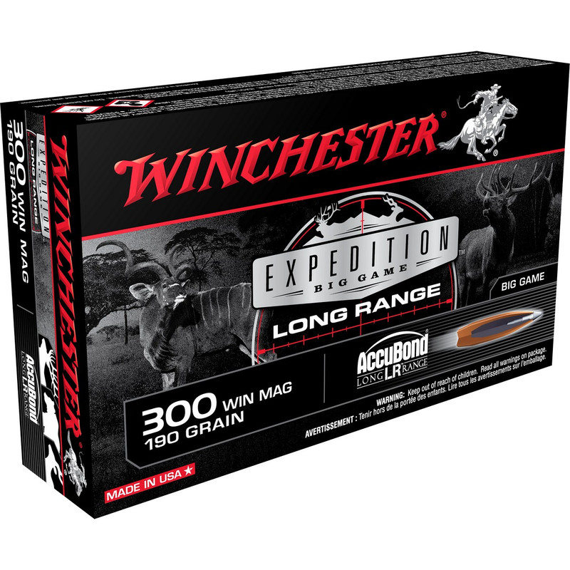 Winchester Accubond LR Rifle Ammunition