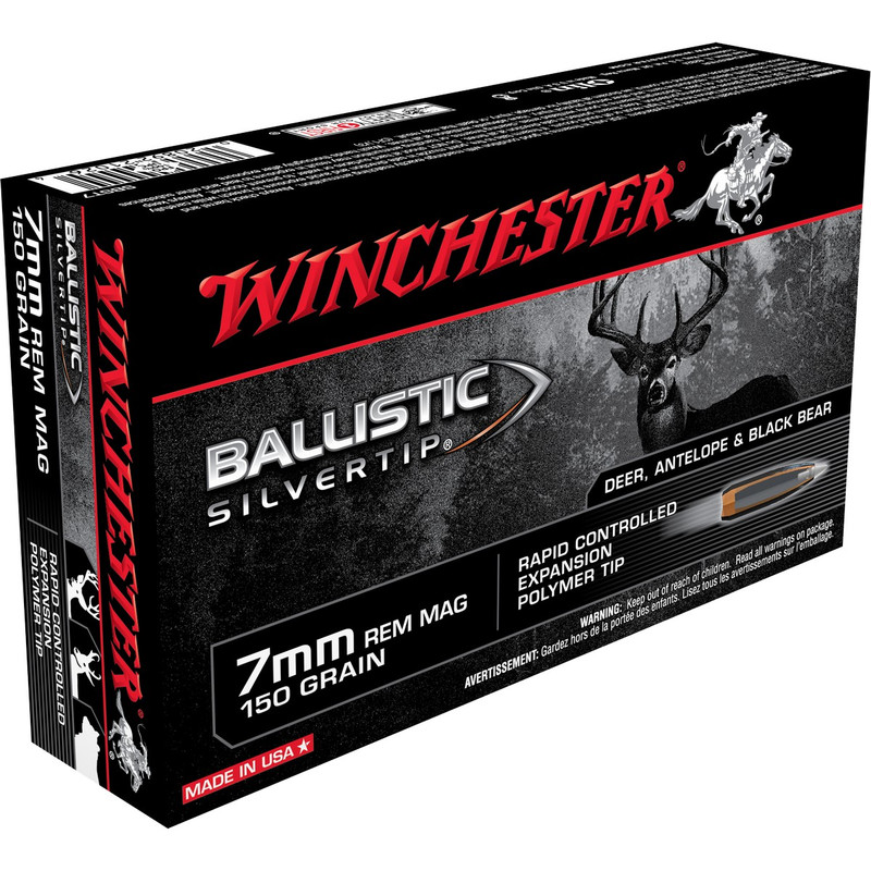 Winchester SBST7 7mm Rem Mag 150 Grain BST