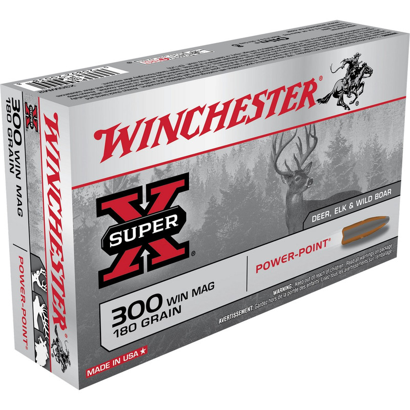Winchester X30WM2 300 Win Mag 180 Grain PP