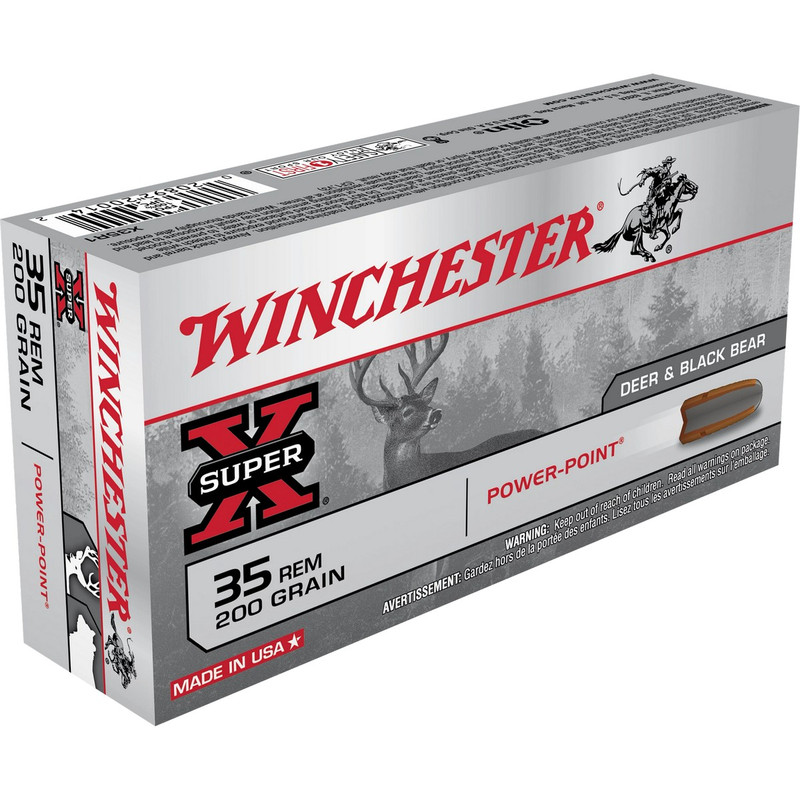 Winchester 35 Rem 200 Grain Power Point 20 Rd