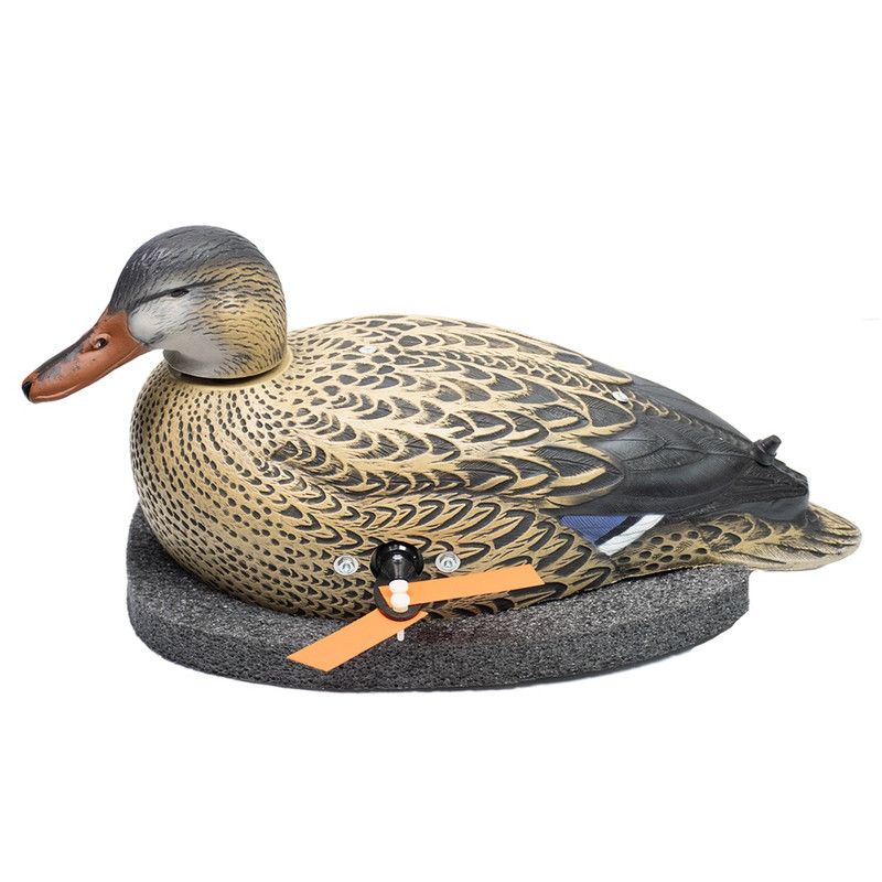 Wonderduck Deluxe Twister Duck Decoy With Timer in Hen Item Style