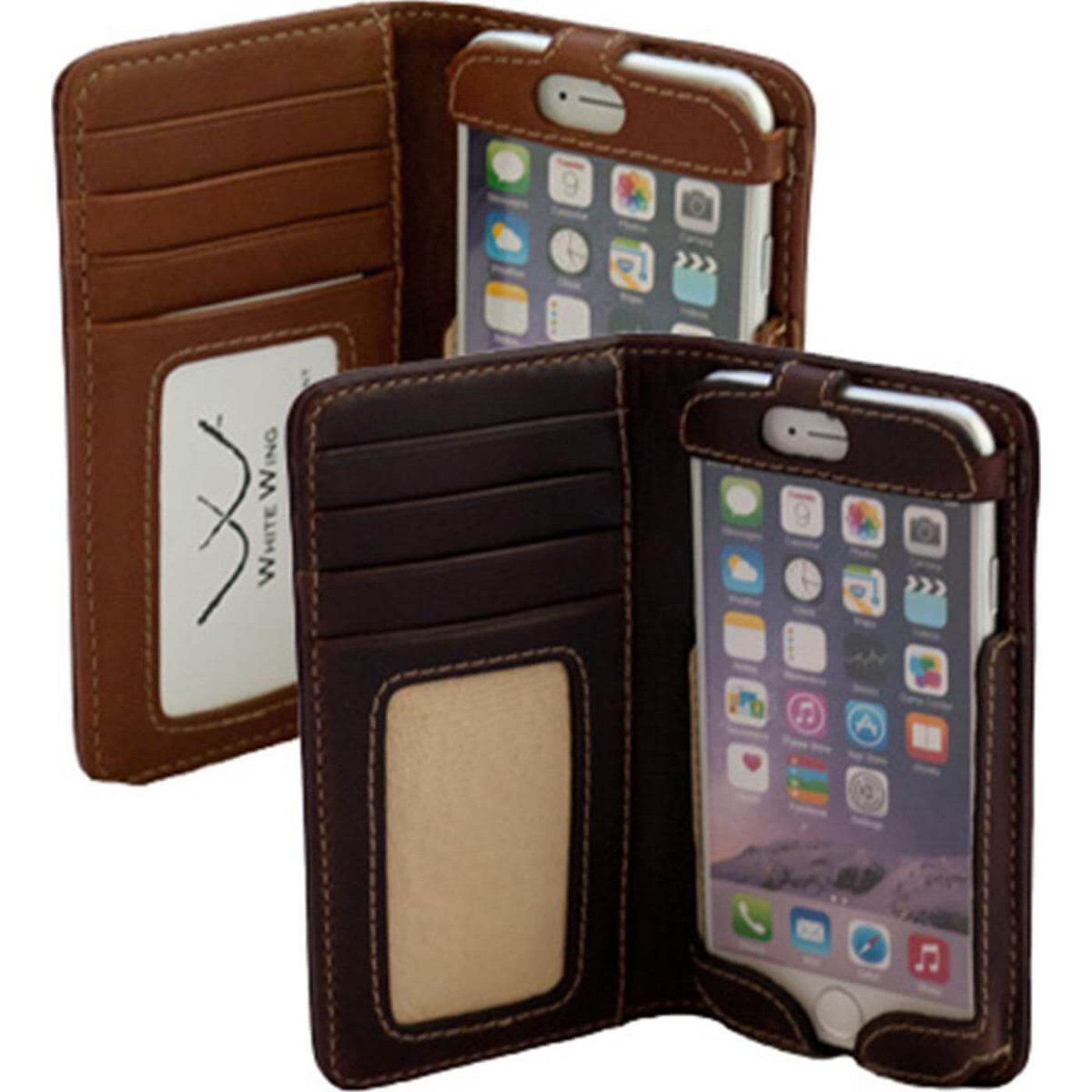 White Wing iPhone Wallet in main