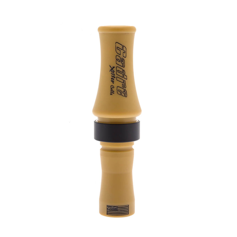 Xciter Cadre Speck Goose Call in Matte Tan Color