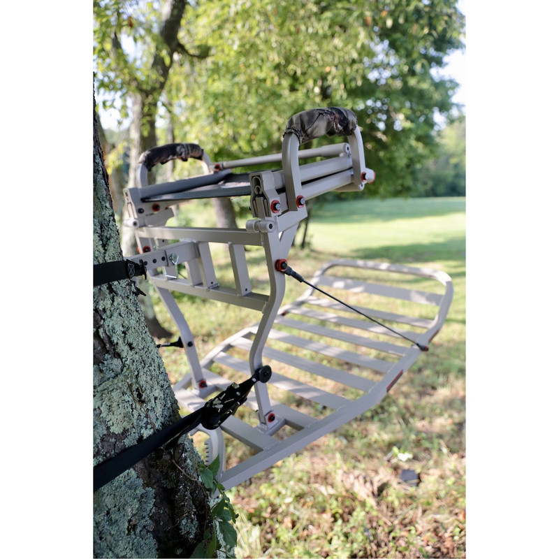 X-Stand The Jester Hang On Treestand Aluminum Grey