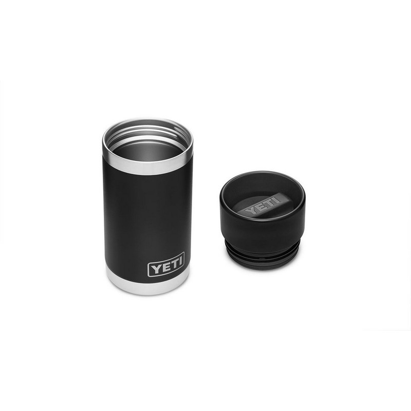 Yeti Rambler Bottle 12 Ounce With Hotshot Cap in Black Color
