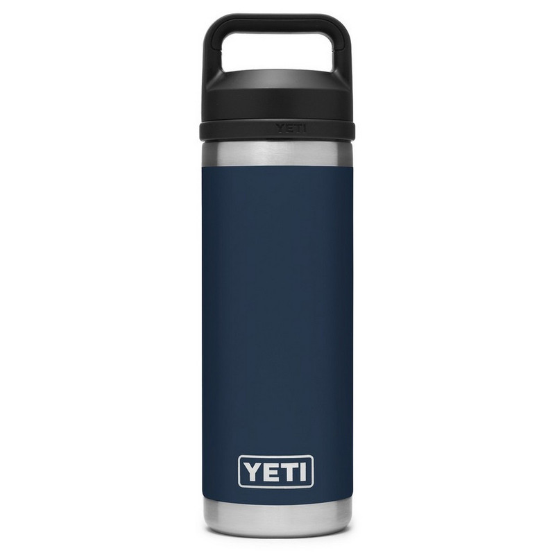Yeti Rambler Bottle 18 Ounce With Chug Cap in Navy Color
