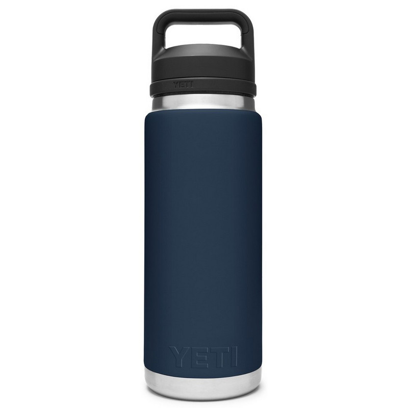 Yeti Rambler Bottle 26 Ounce With Chug Cap in Navy Color