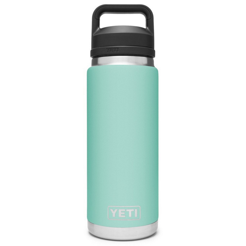 Yeti Rambler Bottle 26 Ounce With Chug Cap in Seafoam Color