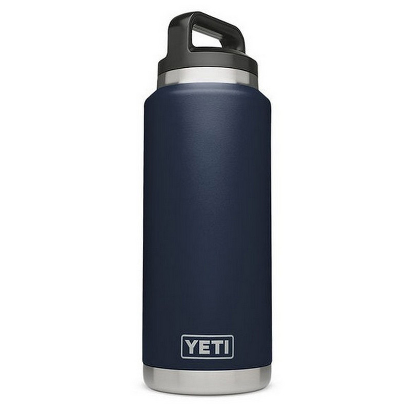 Yeti Rambler Bottle 36 Ounce in Navy Color
