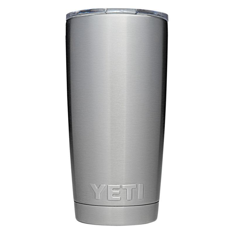 Yeti Rambler Tumbler 20 Ounce in Stainless Steel Color