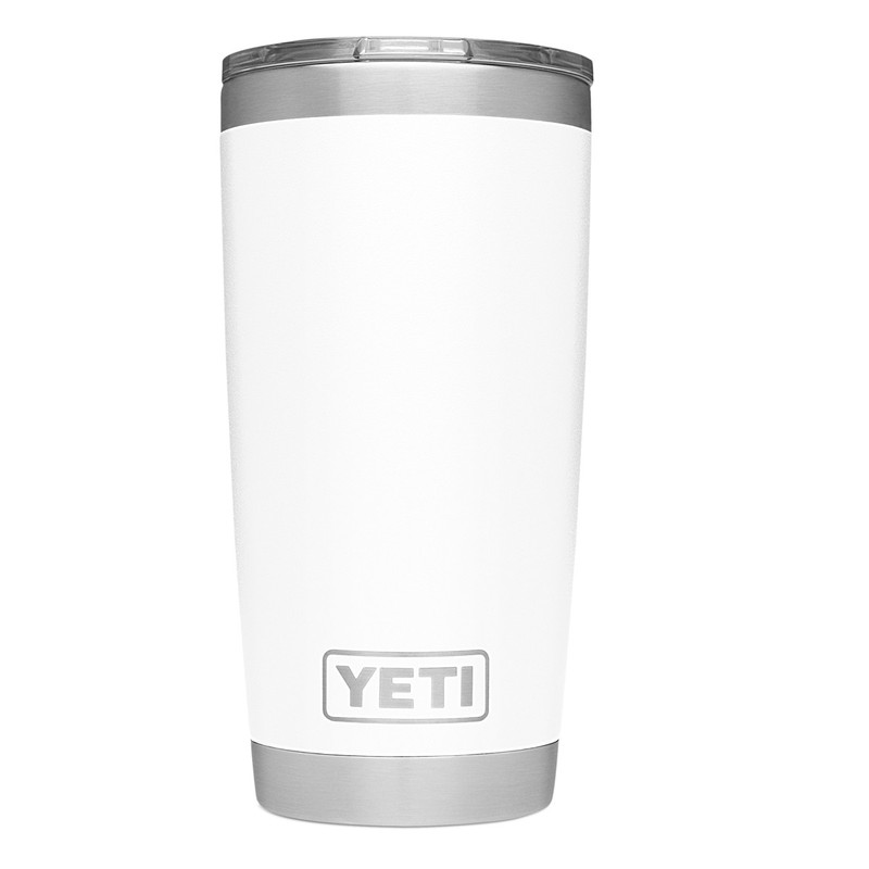 Yeti Rambler Tumbler 20 Ounce in White Color