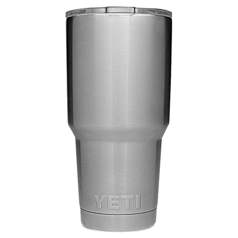 Yeti Rambler Tumbler 30 Ounce in Stainless Steel Color
