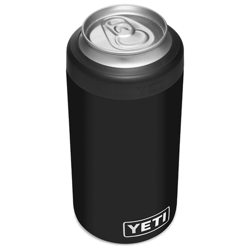 Yeti Rambler 16 Oz Colster Tall Can Insulator in Black Color