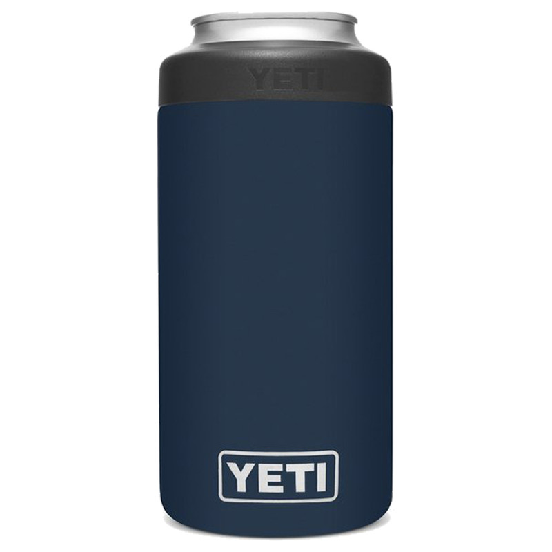 Yeti Rambler 16 Oz Colster Tall Can Insulator in Navy Color