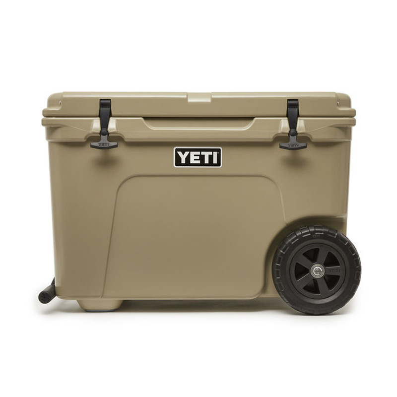 Yeti Tundra Haul Cooler on Wheels - Tan