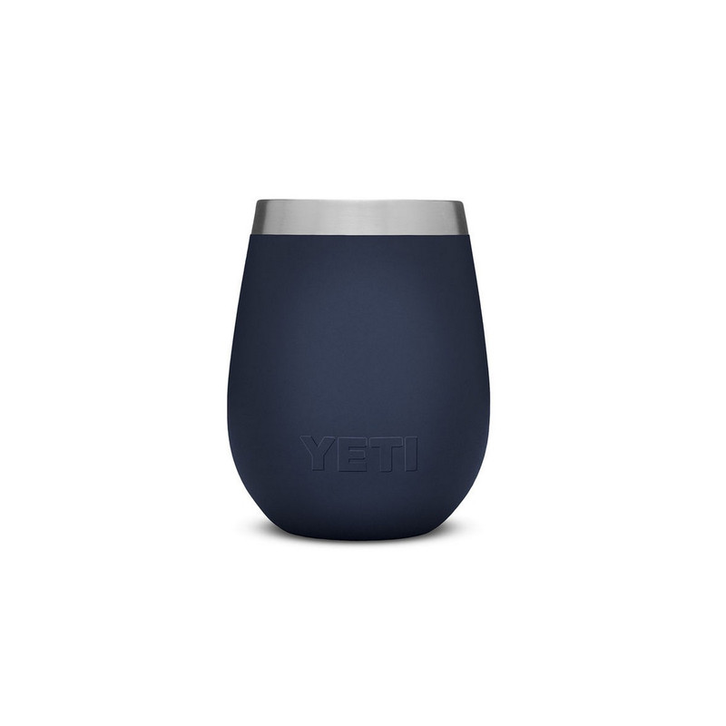 Yeti Rambler 10oz Wine Tumbler in Navy Color