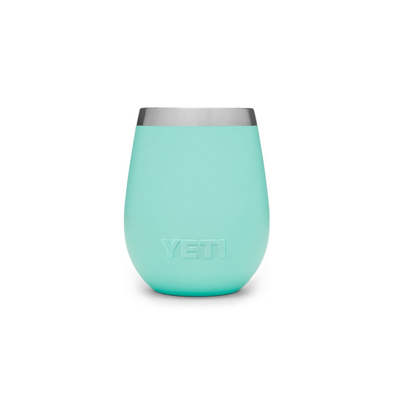 Yeti Rambler 10oz Wine Tumbler in Seafoam Color