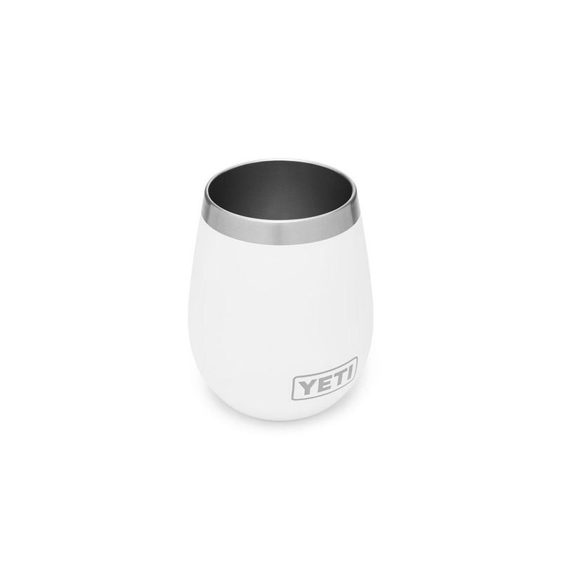 Yeti Rambler 10oz Wine Tumbler in White Color