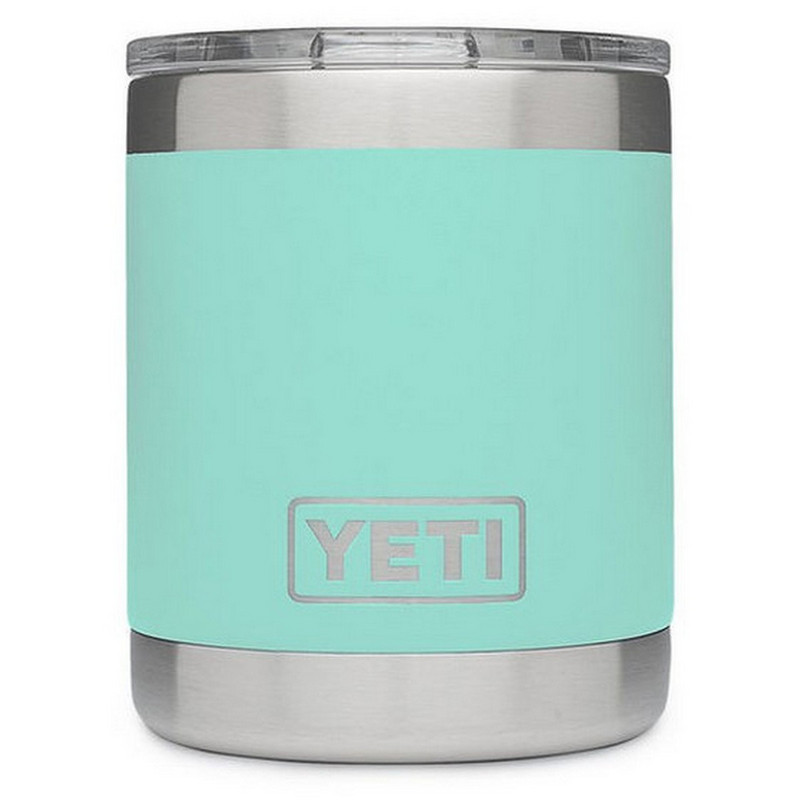 Yeti Rambler Lowball 10 Ounce in Seafoam Color
