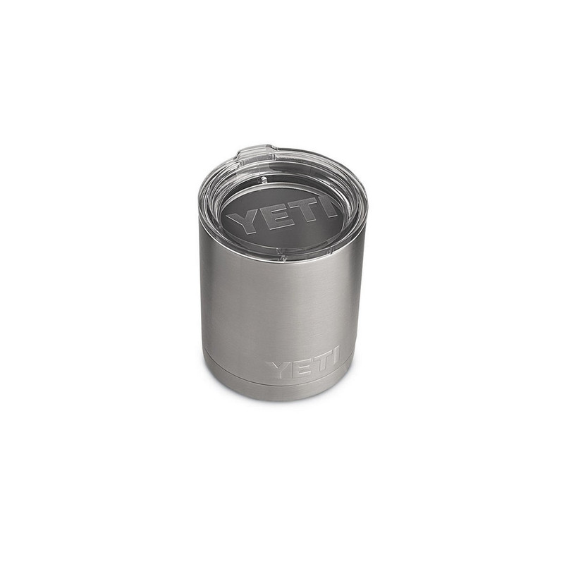 Yeti Rambler Lowball 10 Ounce in Stainless Steel Color
