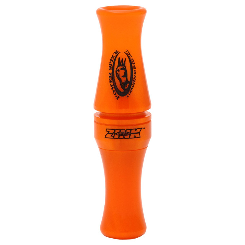 Zink Calls Power Speck Goose Call in Orange Marbleade Color
