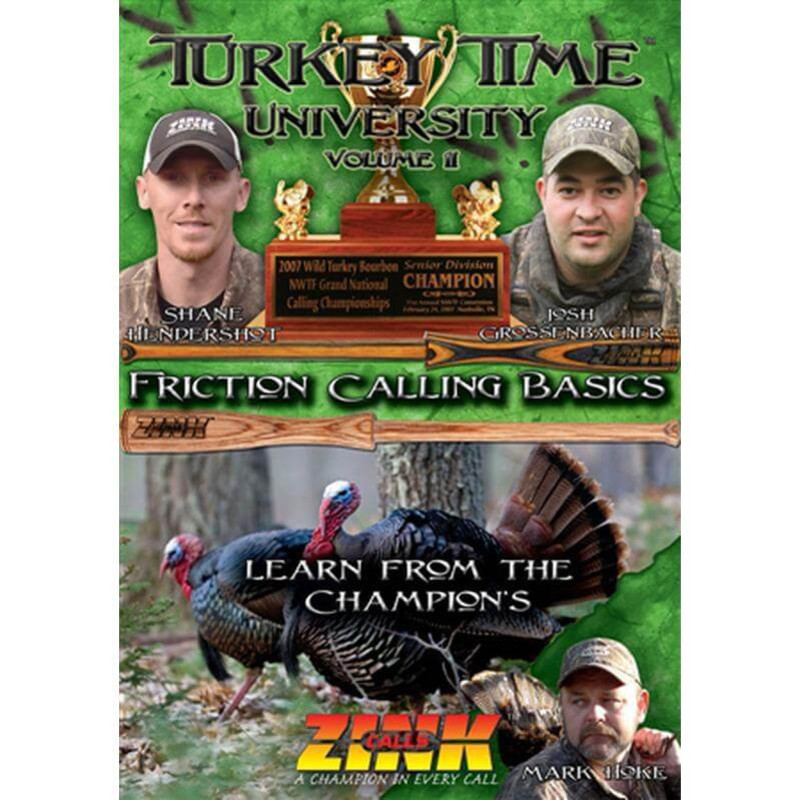 Zink Thunder Ridge Series Friction Turkey Call - Crystal w/ DVD