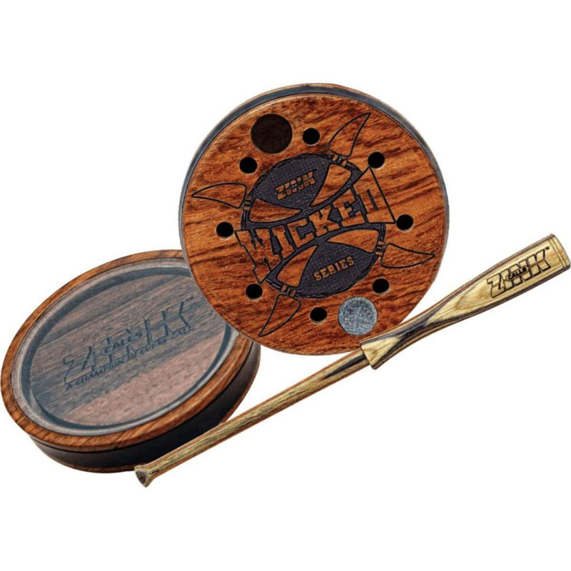 Zink Wicked Series Impregnated Hardwood Friction Crystal Turkey Call