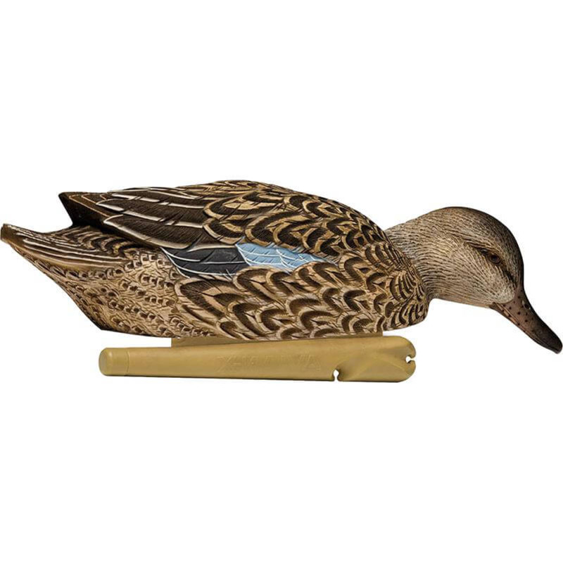 Avian-X Topflight Blue Winged Teal Duck Decoys 6 Pack