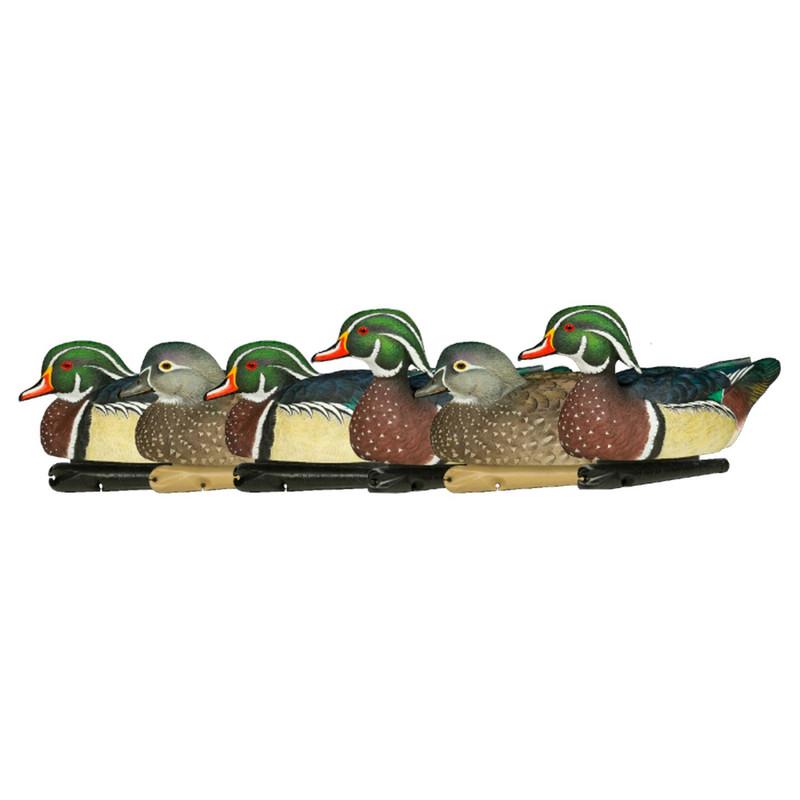Avian X Topflight Wood Duck Decoys 6 Pack
