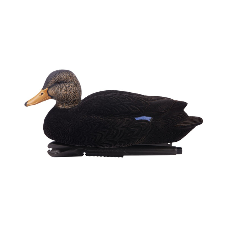 Avian-X Topflight Oversized Black Duck Decoys 6 Pack