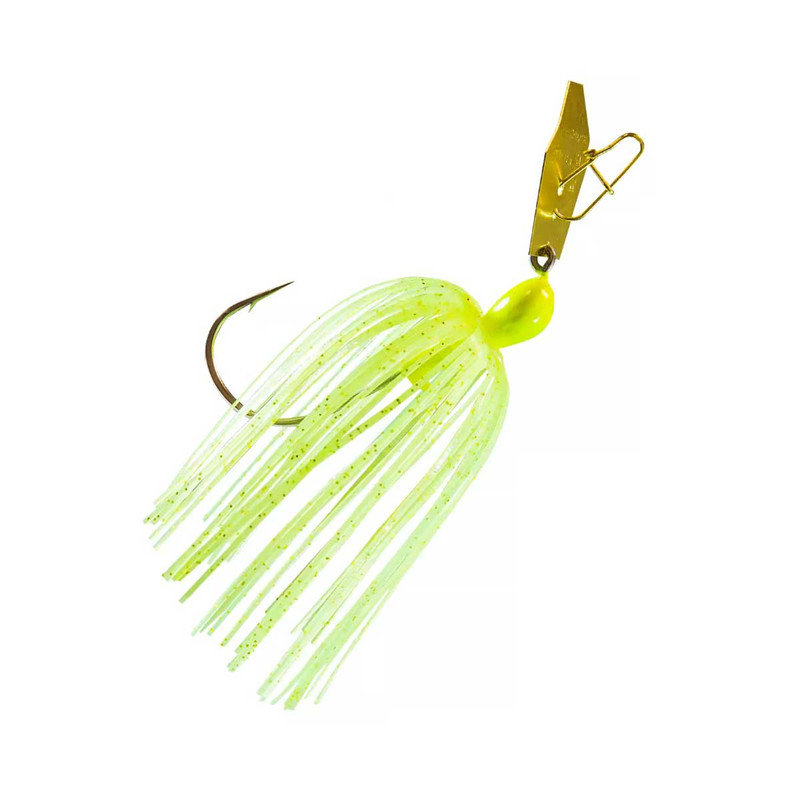 Z-Man The Original ChatterBait Fishing Lure - 3/8oz in Chartreuse Color