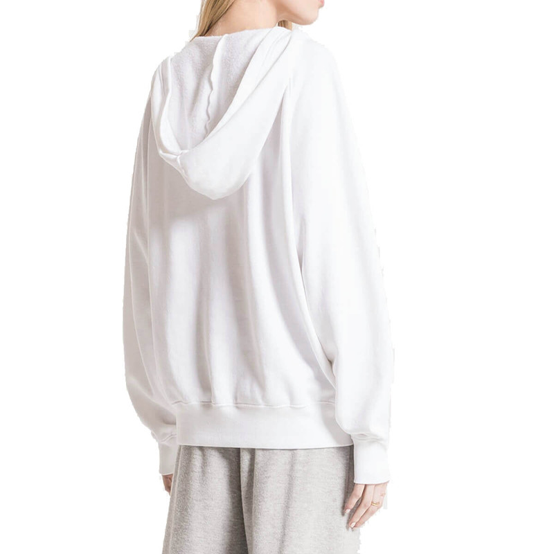Z Supply The Half Zip Pullover Clay in white