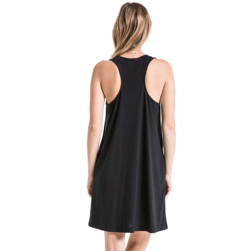 The City Tank Dress in Black Color