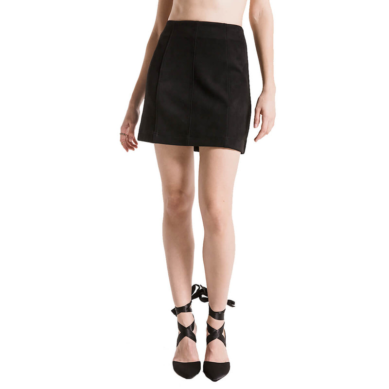Black Swan Tessa Skirt in Black Color